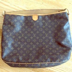 Large Louis Vuitton Monogram Hobo Bag